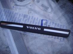 Накладка на порог. Volvo XC60, DZ31, DZ47, DZ69, DZ80, DZ82, DZ87, DZ90, DZ95 Двигатели: B4204T7, B6304T4, B6324S5, D5204T7, D5244T15, D5244T16, D5244...