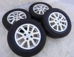 Диски Honda c зимними Yokohama 175x70x14. 5.5x14 4x100.00 ET45 ЦО 54,1мм.