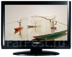 "Toshiba. меньше 20"" LCD (ЖК)"