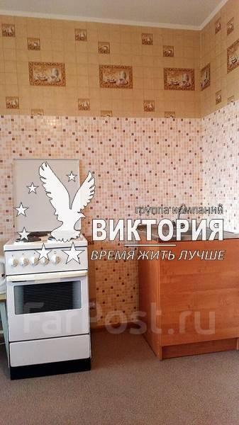 1-комнатная, улица Толстого 4. 17й км, агентство, 34 кв.м. Кухня