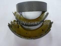 Колодки тормозные задние Hyundai Grace, SsangYong Istana, Korando, Hyundai Galloper, SsangYong Musso, Rexton, Kyron (Hi-Q) 6614203019/5831544020S/4833...