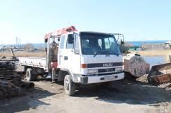 Isuzu Forward. Продается грузовик с манипулятором , 7 127 куб. см., 3 000 кг., 8 м.