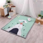 Мягкий детский коврик для игр. новые расцветки