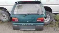 Дверь багажника. Mitsubishi Delica, PD8W, PD5V, PD6W, PD4W