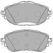 Колодки дисковые п.!\ Toyota Corolla, Auris 1.3-1.8/1.4D 12>