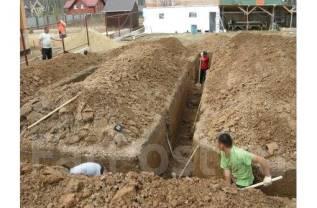 Земляные работы, планировка, обустройство территории