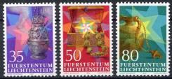 1985 Лихтенштейн. Рождество. Дары волхвов. 3 марки. Чистые