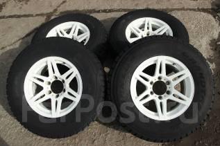 Комплект колес Bridgestone CV201 16*8+0 с зимой Dunlop 265/70/16. 8.0x16 6x139.70 ET0