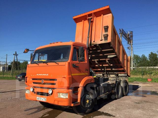 Камаз 65115. , 6 700 куб. см., 14 500 кг.