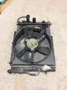 Радиатор охлаждения двигателя. Nissan Cube, AZ10, ANZ10, Z10 Двигатели: CG13DE, CGA3DE