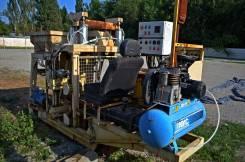 Мобильный завод бетонных изделий, генератор 12 кВт