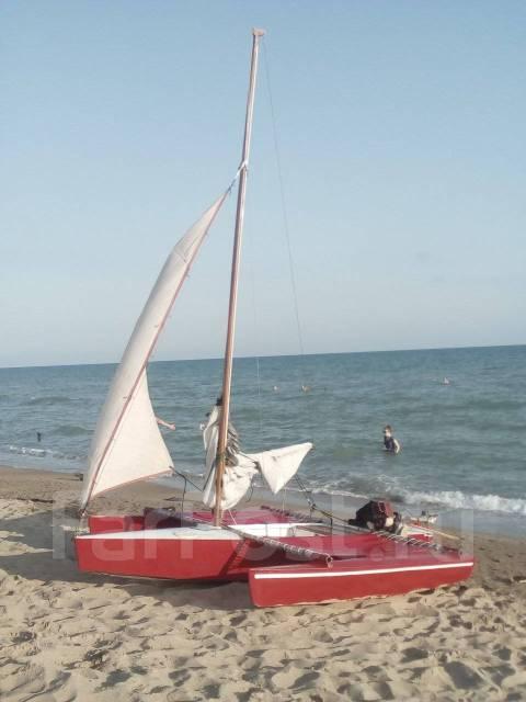Парусный тримаран. Длина 4,00м., 2013 год год