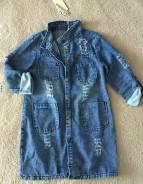 Куртки джинсовые. 40-44, 40-48