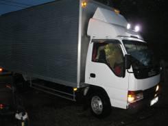 Isuzu Elf. Продам 3,5 тонного фургон 24 куба., 4 334 куб. см., 3 499 кг.