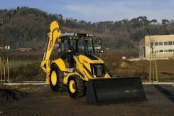 New Holland B100B. Экскаватор-погрузчик NEW Holland B100B, 3 900 куб. см., 3 550 кг.