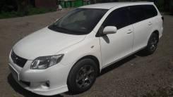 Toyota Corolla Fielder. вариатор, передний, 1.5 (110 л.с.), бензин, 100 000 тыс. км