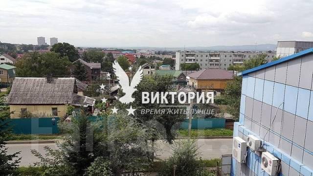 1-комнатная, улица Ульяновская 11. комсомольская, агентство, 37 кв.м. Вид из окна днем