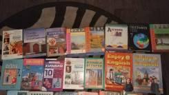 Продам учебники за 7-10 класс комплектом. Класс: 7 класс
