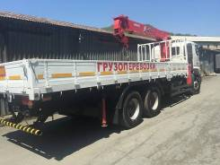 Hino 700. Бортовой грузовик с манипулятором , 12 913 куб. см., 16 800 кг.