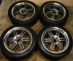 Sparco. 8.5/7.5x17, 5x114.30, ET35/30, ЦО 73,1 мм.