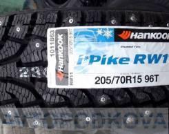 Hankook Winter i*Pike RW11. Зимние, шипованные, 2017 год, без износа, 4 шт