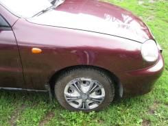 Колодки тормозные передние к-кт Chevrolet Lanos
