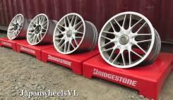 Bridgestone Erglanz. 8.0/9.0x17, 4x114.30, 5x114.30, ET43/49, ЦО 73,0мм.