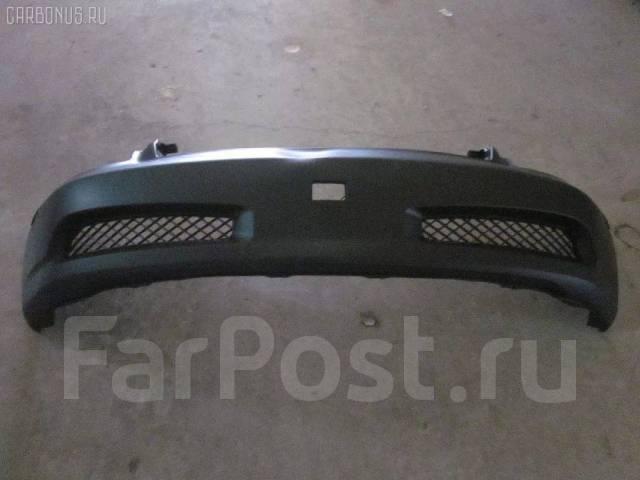 Накладка на решетку бампера. Nissan Skyline, V35