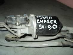 Мотор стеклоочистителя. Toyota Chaser, JZX91, LX90, JZX90, JZX93, GX90, SX90 Toyota Mark II, GX90, JZX93, JZX91, JZX90, SX90, LX90 Toyota Cresta, LX90...