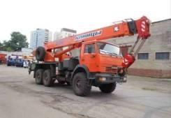 Клинцы КС-55713-5К-1. Автокран КС-55713-5К-1, 3 000 куб. см., 25 000 кг., 29 м.
