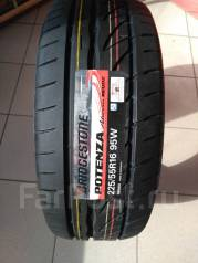 Bridgestone Potenza RE002 Adrenalin. Летние, без износа, 1 шт
