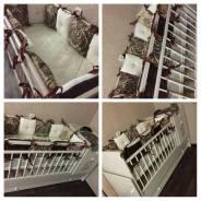 Бортики-подушки на заказ