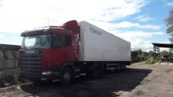Scania R. 380 + Полуприцеп рефрижератор Тонар, 10 600 куб. см., 11 000 кг.