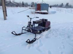 Мотобуксировщик(снегоход)