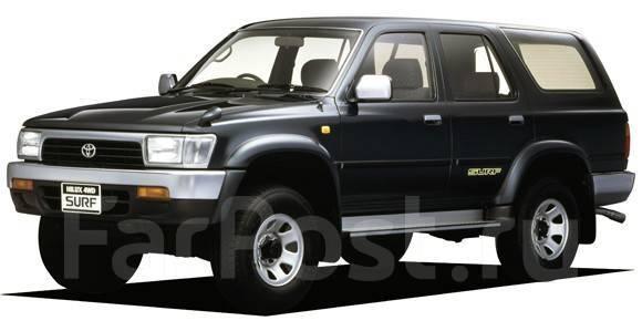Порог кузовной. Toyota Hilux Surf, KZN130G, KZN130W, LN130G, LN130W, VZN130G, YN130G Toyota 4Runner, LN130, LN135, RN130, RN131, RN135, VZN130, VZN131...