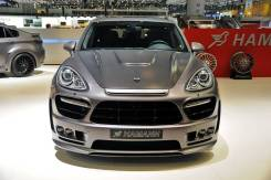 Обвес кузова аэродинамический. Porsche Cayenne. Под заказ