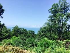 Участок в Сочи с видом на море. 700 кв.м., собственность, электричество, вода, от частного лица (собственник)