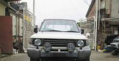 Продам митсубиси пажеро в разбор. Mitsubishi Pajero Двигатель 4D56