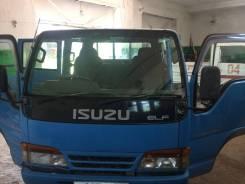 Isuzu Elf. Продам грузовик в хорошем состоянии, с аппарелью и тентом, 3 000 куб. см., 1 500 кг.