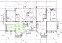 Продам нежилое помещение по ул. Плантационной д.9. Улица Плантационная 9, р-н ж.д. вокзал, 74 кв.м. План помещения