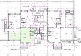Продам нежилое помещение по ул. Плантационной д.9. Улица Плантационная 9, р-н ж.д. вокзал, 74кв.м. План помещения