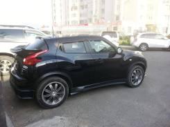 Накладка на порог. Nissan Juke