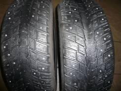 Michelin Ivalo I2. Зимние, шипованные, износ: 20%, 2 шт