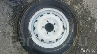 Комплект летних колес на ВАЗ 2121* (нива). 5.0x16 4x139.70 ET22 ЦО 110,0мм.