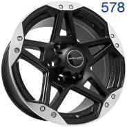 Sakura Wheels 578. 8.0x17, 6x139.70, ET15, ЦО 110,5мм. Под заказ