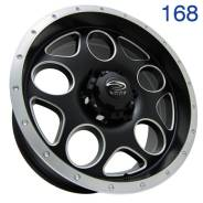 Sakura Wheels. 8.0x17, 6x139.70, ET-10, ЦО 110,5мм. Под заказ
