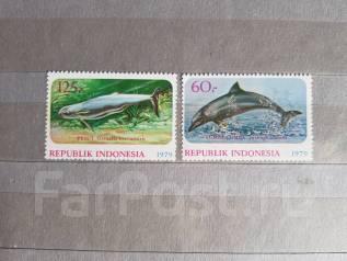 2 негашеные марки из Индонезии 1979 года