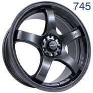 Sakura Wheels. 8.0x18, 5x100.00, 5x114.30, ET40, ЦО 73,1мм. Под заказ