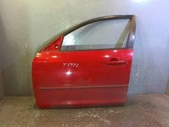 Дверь боковая Mazda 3 (BK) 2003-2009, левая передняя