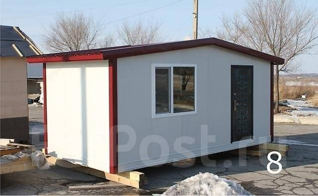 Изготавливаем домики, гаражи, бытовки, павилоны из сэндвич-панелей.